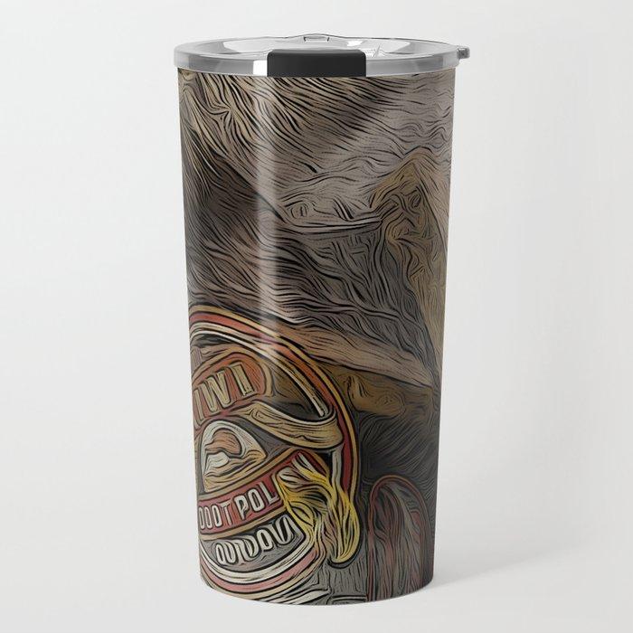 Shoe Shine: A Lost Art Travel Mug