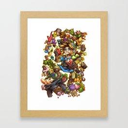 Master Chef Link Framed Art Print