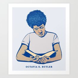 Octavia E. Butler Art Print