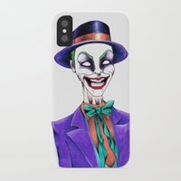 joker iPhone & iPod Cases featuring JOKER by ReadThisVA