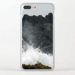 Waves x Conflict Clear iPhone Case