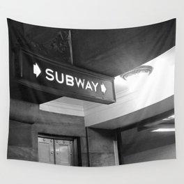 NYC Subway  Wall Tapestry
