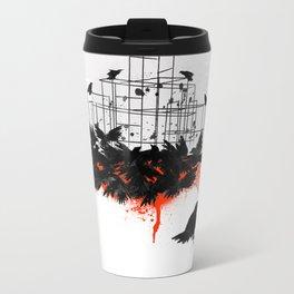 The Birds (1963) Metal Travel Mug