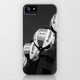 Black and white masturi iPhone Case