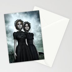 Deadly Halloween Twins – They are coming Stationery Cards