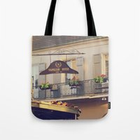 napoleon Tote Bags featuring Napoleon Corner by Briole Photography