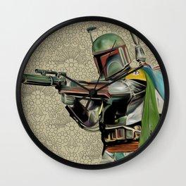Starwars Boba Fett Wall Clock