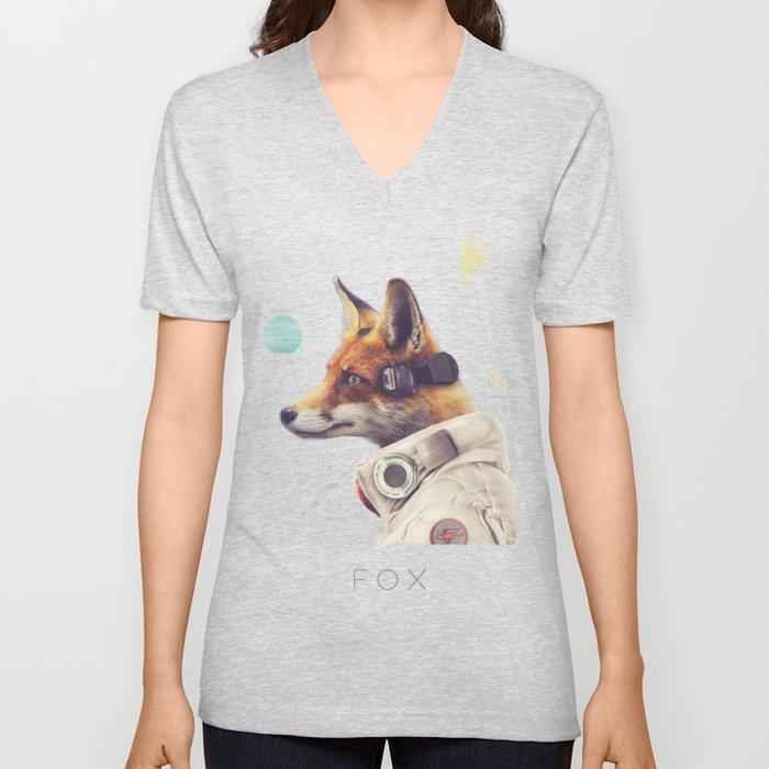 Star Team - Fox Unisex V-Neck