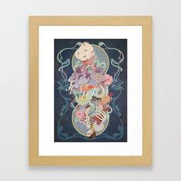 Paranoia Jealousy Framed Art Print