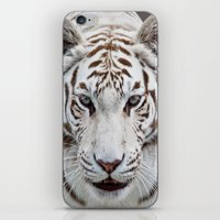 tiger iPhone & iPod Skins featuring TIGER TIGER by Catspaws