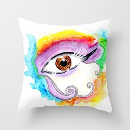 "EYECONIC - ""Nineteen Seventy-Eight"" Throw Pillow"