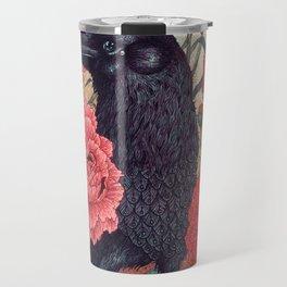 Crow Effigy Travel Mug