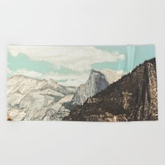 Half Dome Peek Beach Towel