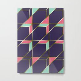 Ultra Deco 1 #society6 #ultraviolet #artdeco Metal Print