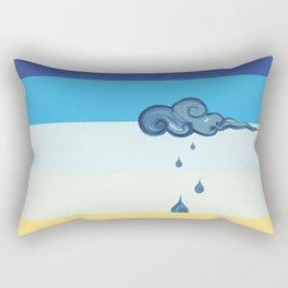 It will stop Rectangular Pillow
