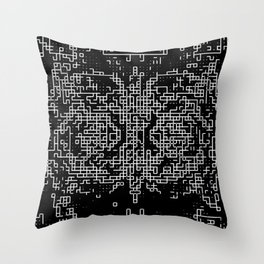 Ma.Trix Throw Pillow