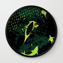 Bioluminescent Bay, Vieques, PR Wall Clock