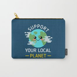 Support Your Local Planet Carry-All Pouch