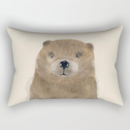 little beaver Rectangular Pillow