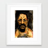 danny ivan Framed Art Prints featuring Danny by Grant Hunter
