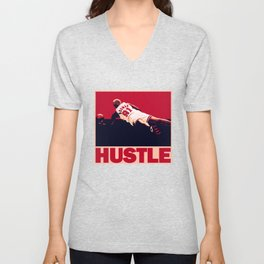 The Worm: Hustle Unisex V-Neck