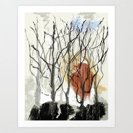 Dreams of a Dying Forest Art Print