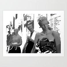 Montreal 2008 – Yves Saint Laurent Love - 40 years of creation retrospective Art Print