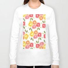 Vintage Florals Long Sleeve T-shirt