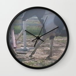 The Take-off Wall Clock