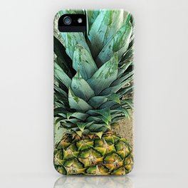 Pineapple Portrait iPhone Case