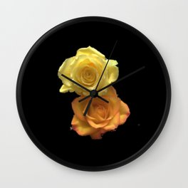Season of the Flower - Bed of Roses Wall Clock