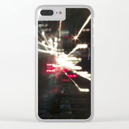 Zoom Out Clear iPhone Case