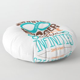 Some Infinities Are Bigger Than Other Infinities Floor Pillow