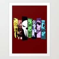 soul eater Art Prints featuring Soul Eater by feimyconcepts05