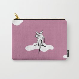 Flying Aardvark by Amanda Jones Carry-All Pouch