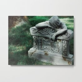 Eventually, There Is Nothing Left To Do But Sleep Metal Print
