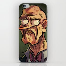 I Frown At You. iPhone Skin