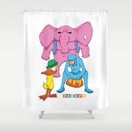 Yocopo Shower Curtain