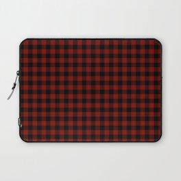 Vintage New England Shaker Barn Red Buffalo Check Plaid Laptop Sleeve