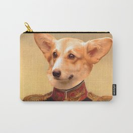 Corgi General Portrait Painting | Corgi Lovers! Carry-All Pouch