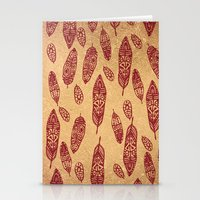 nick cave Stationery Cards featuring golden cave by ECSTATIC