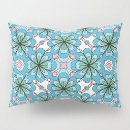 Floral Lattice Pillow Sham