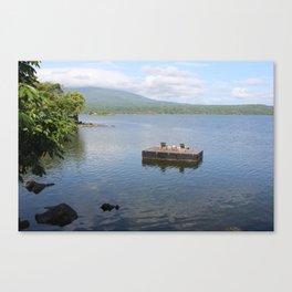 Floating Deck Canvas Print