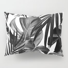 Tropical Jungle Leaves Pattern #10 #tropical #decor #art #society6 Pillow Sham