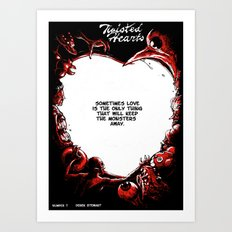 Twisted Hearts #7 Art Print