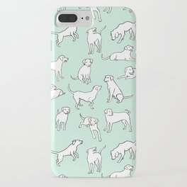 Mint Chocolate Labs iPhone Case