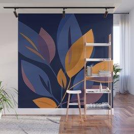 Scorpio Dark Floral Wall Mural