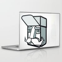 the dude Laptop & iPad Skins featuring DUDE by Serhiy FE