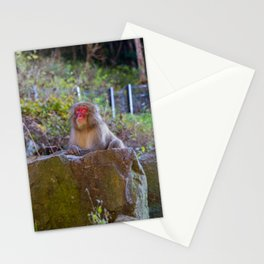 Deep Monkey Thoughts Stationery Cards