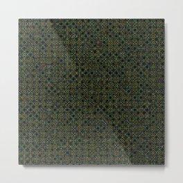 Random Octagonal Pattern  Metal Print